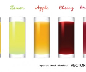 Juice design vector 04
