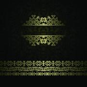 Link toRetro golden ornaments background 02