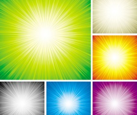 Be riotous with colour light background Vector graphic