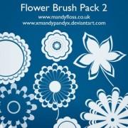 Link toFlower brushes 2 photoshop brushes