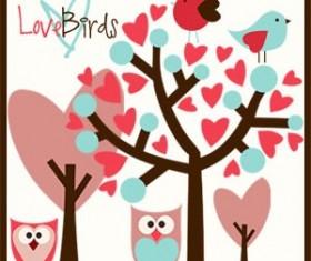 Love Birds Photoshop Brushes
