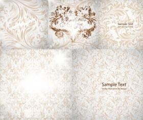 Gorgeous decorative pattern Background  Vector