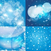 Bright stars background vector art