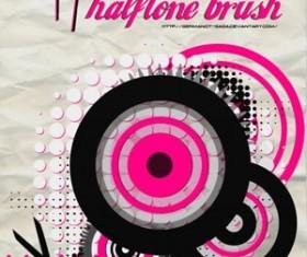 Halftone Brushes Pack 2 Photoshop Brushes