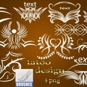 Link toTattoo design photoshop brushes
