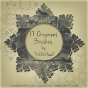 Link toOrnament brushes by pinkonhead photoshop brushes