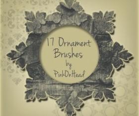Ornament Brushes by PinkOnHead Photoshop Brushes