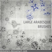 Link toArabesque brushes ii photoshop brushes