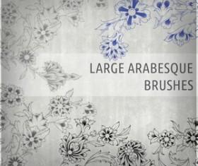 Arabesque Brushes II Photoshop Brushes