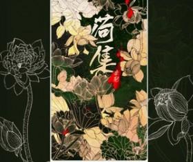 Chinese Painting Lotus Photoshop Brushes