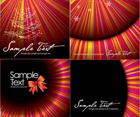Colorful ribbon background