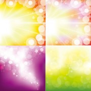 Link toGorgeous bright background vector graphic
