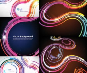 science and technology Abstract background design elements
