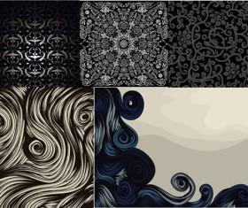 Retro decorative pattern background