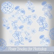 Link toFlower brushes for photoshop brushes