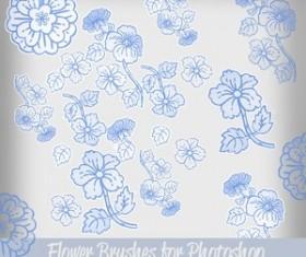 Flower Brushes for Photoshop Brushes