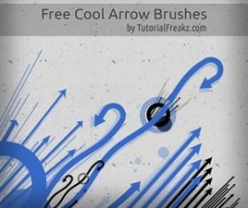 Free Cool Arrow Photoshop Brushes