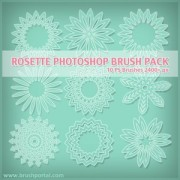 Link toFree rosette photoshop brushes