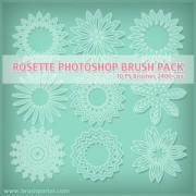 Link toFree rosette photoshop brushes