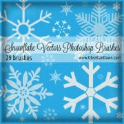 Link toSnowflake set of vectors photoshop brushes