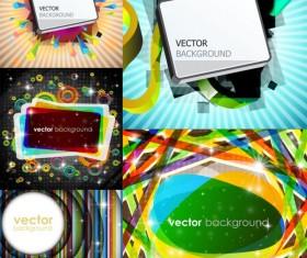 Rectangular graphics bright background