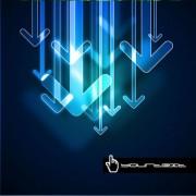 Link toDream special hyun arrow background design vector