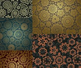 classic decorative pattern background design vector