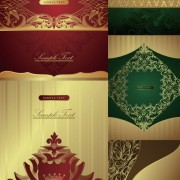 Link toClassic decorative pattern background vector graphic