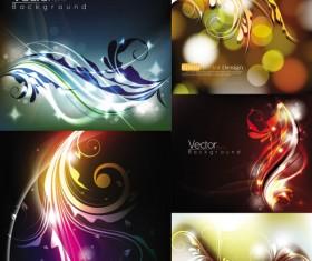 Gorgeous decorative pattern background illustration design vector