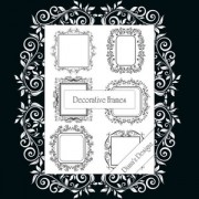 Link toDecorative frame brushes photoshop brushes
