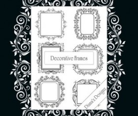 Decorative Frame Brushes Photoshop Brushes