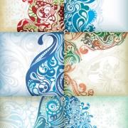 Decorative exquisite pattern background