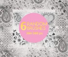 Random Brushes Photoshop Brushes