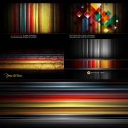 Link toBlack stripes background vector