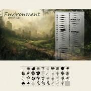 Link toEnvironment brushes photoshop brushes