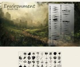 Environment Brushes Photoshop Brushes