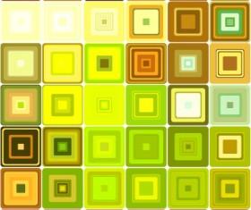 Fashion Square background vector set