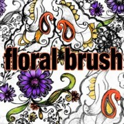 Link toFloral brush photoshop brushes