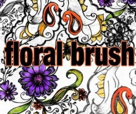 Floral Brush Photoshop Brushes