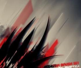 Assassin Brush Set Photoshop Brushes