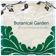 Link toBotanical garden free photoshop brushes