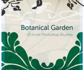 Botanical Garden Free Photoshop Brushes