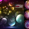 Circle circle backgrounds vector art