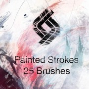 Link toHighres paint strokes: set i photoshop brushes