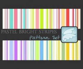 Pastel Bright Stripes Pattern