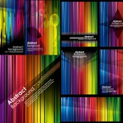 Link toColorful striped background vector