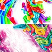 Link toElements of stereo module combination background design vector