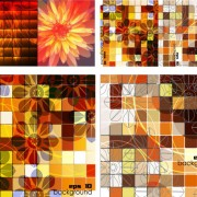 Link toSquare grid background vector