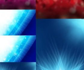 Fantasy gorgeous background design elements