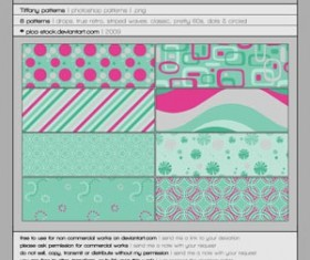 Tiffany Patterns by picastock